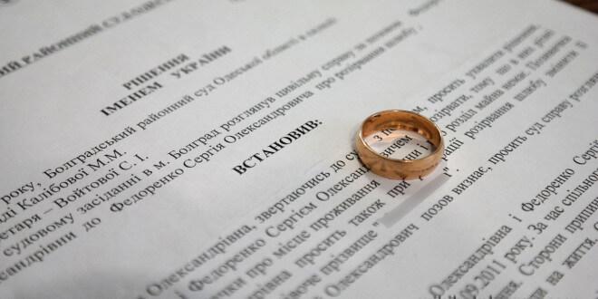 Через какое время вступает в силу решение суда о разводе